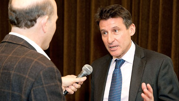 Sebastian Coe won gold in the 1980 and '84 Games; now he wants to inspire young people to take part in sports.