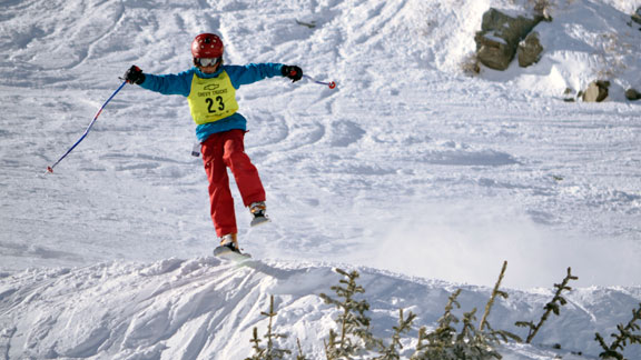 Not old enough to drive, but old enough to compete at Snowbird.
