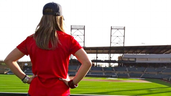 We guarantee there will be at least one woman in the Fan Cave this year, says MLB chief marketing officer Jacqueline Parkes.
