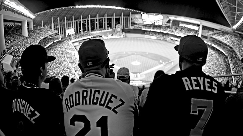 Opening Day fans