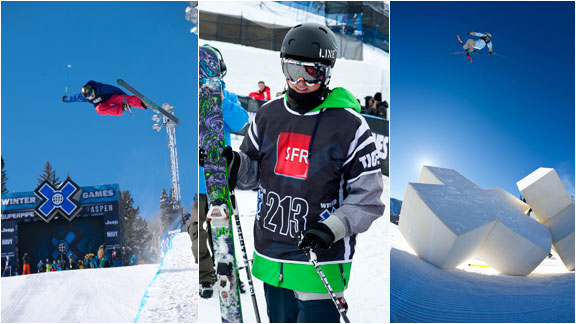 Devin Logan, Joss Christensen and Gus Kenworthy: All three compete in slope and pipe.