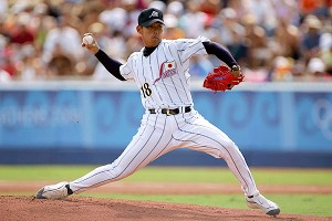Daisuke Matsuzaka competed for Japan in the 2004 Olympics, winning a bronze medal.