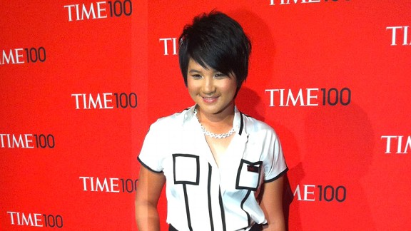 Yani Tseng attended a gala in New York after being named one of Time's 100 most influential people.