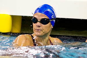 Dara Torres says it is harder for her body to recover compared to when she competed in the 2008 Olympics.