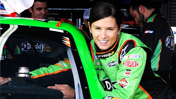 NASCAR attendance is down during Danica Patrick's first full-time season, while IndyCar's numbers are up despite her absence.