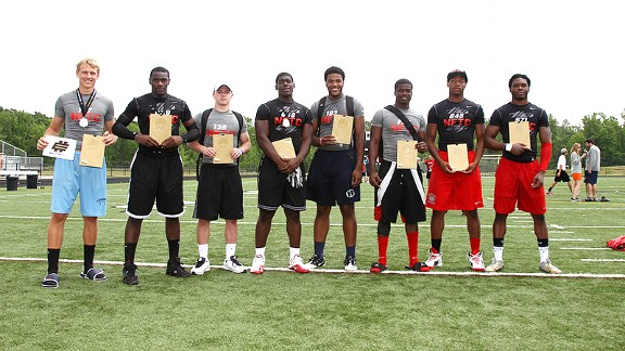Brice Ramsey, Larenz Bryant, Ryan Switzer, Carl Lawson, Josh McNeil, Tramel Terry, Peter Kalambayi, Holland Fisher