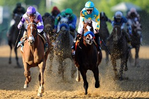I'll Have Another, left, again overtook Bodemeister late to win. The rally gave I'll Have Another a Preakness victory and the chance to win the first Triple Crown since Affirmed did it in 1978.