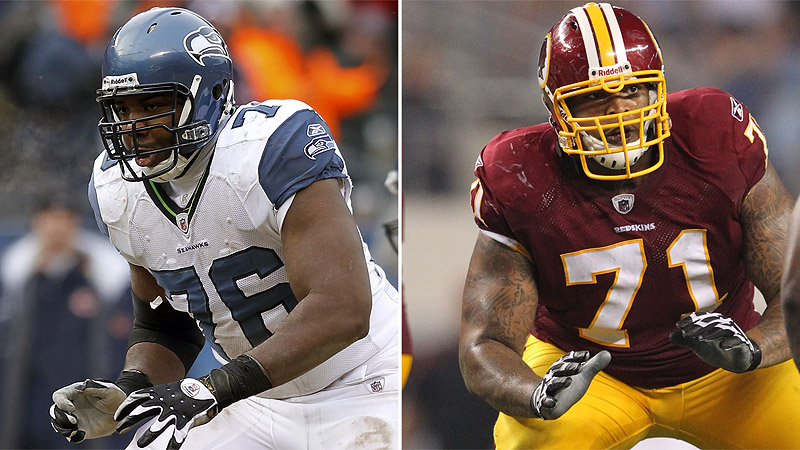 Trent Williams &  Russell Okung