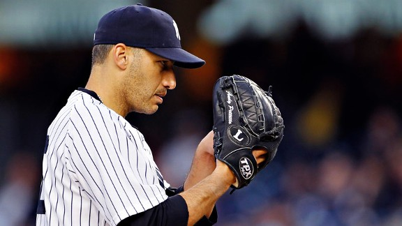 Starting Game 1 of the ALCS, the view from the bump is something veteran lefty Andy Pettitte is used to in the postseason. He leads the Yankees in starts with 43 under his belt and 19 wins.