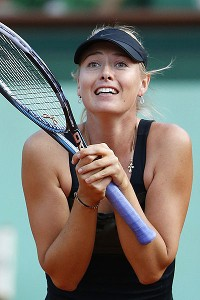 Maria Sharapova is playing well, back to her pre-shoulder surgery form.