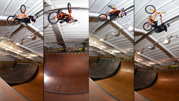 Steve McCann on home turf at Woodward Camp earlier this year. a class=launchGallery href=http://www.espn.com/action/photos/gallery/_/id/8049316/pro-bmx-vert-rider-steve-mccann-yearsiLaunch Gallery »/i/a