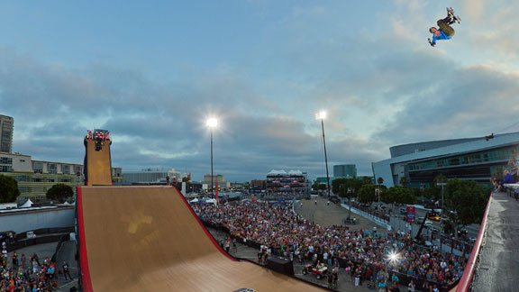 Adam Taylor got silver in X Games Skateboard Big Air last year. He won't be returning to Big Air this year.