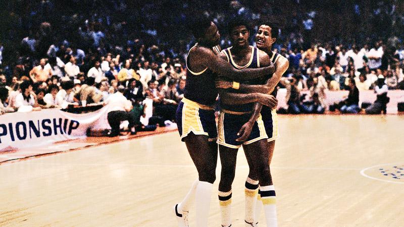 Magic Johnson 1980 NBA Finals