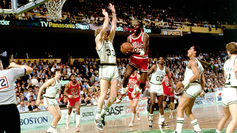 Michael Jordan 1986 Eastern Conference Finals