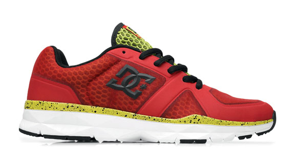 DC Shoes' Unilite Trainer shoes come in a variety of colors and are priced at 85.