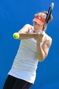 Thanks to the phenom known as Twitter, Varvara Lepchenko found out she made the U.S. Olympic tennis team.