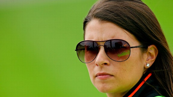 Danica Patrick had her best finish of the season at Texas Motor Speedway in April: eighth.