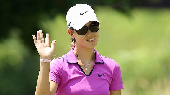 Until Friday, Michelle Wie had struggled mightily, missing the cut in six of 10 events coming into the Open.