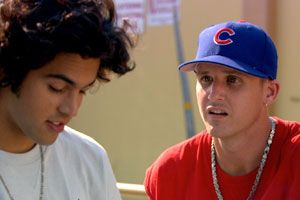 Paul Rodriguez and Rob Dyrdek in the 2009 film Street Dreams.