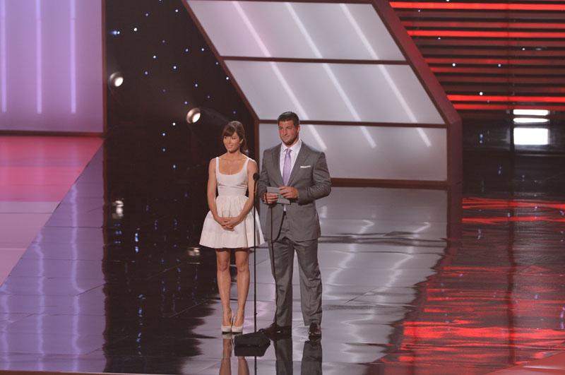 Jessica Biel and Tim Tebow