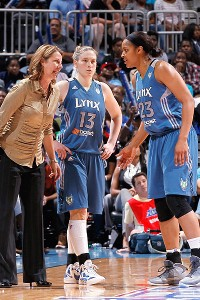 Lindsay Whalen and Maya Moore teamed up to lead Minnesota to the WNBA title last summer and previously helped Team USA to a world championship.