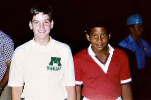 While in Puerto Rico in July 1978, David met Roberto Clemente, Jr., who played for the Puerto Rican national team.
