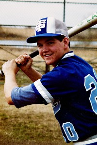 David played for St. Thomas Academy in 1982.