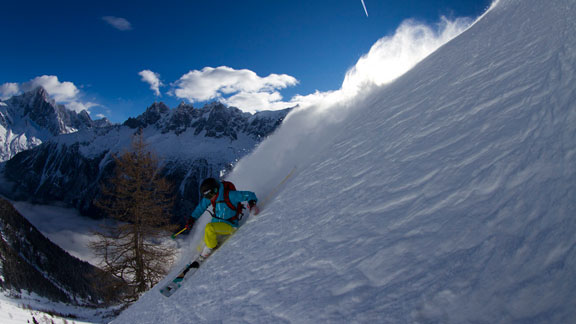 Ingrid Backstrom after a storm in Chamonix last January. a class=launchGallery href=http://espn.go.com/action/photos/gallery/_/id/8181733/powder-skiing-chamonix-franceLaunch gallery »/a