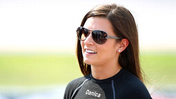 When Danica Patrick commented about the book on Twitter, she was bombarded with responses from other followers.