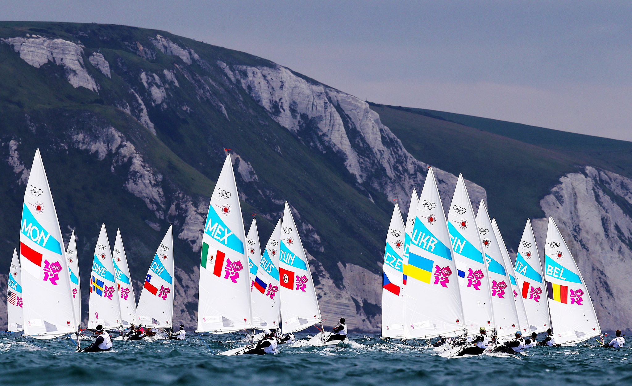 Men's Laser Sailing