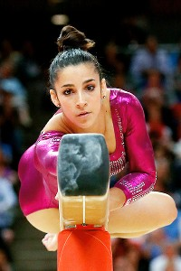 Aly Raisman's miscues on the beam cost her a bronze medal.