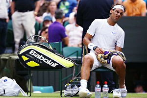 Rafael Nadal has had a long struggle with his knees. But this time around, it seems a little more worrisome.