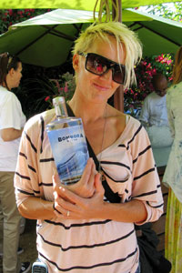 Pro surfer Keala Kennelly is sponsored by Bombora, an Australian vodka brand.
