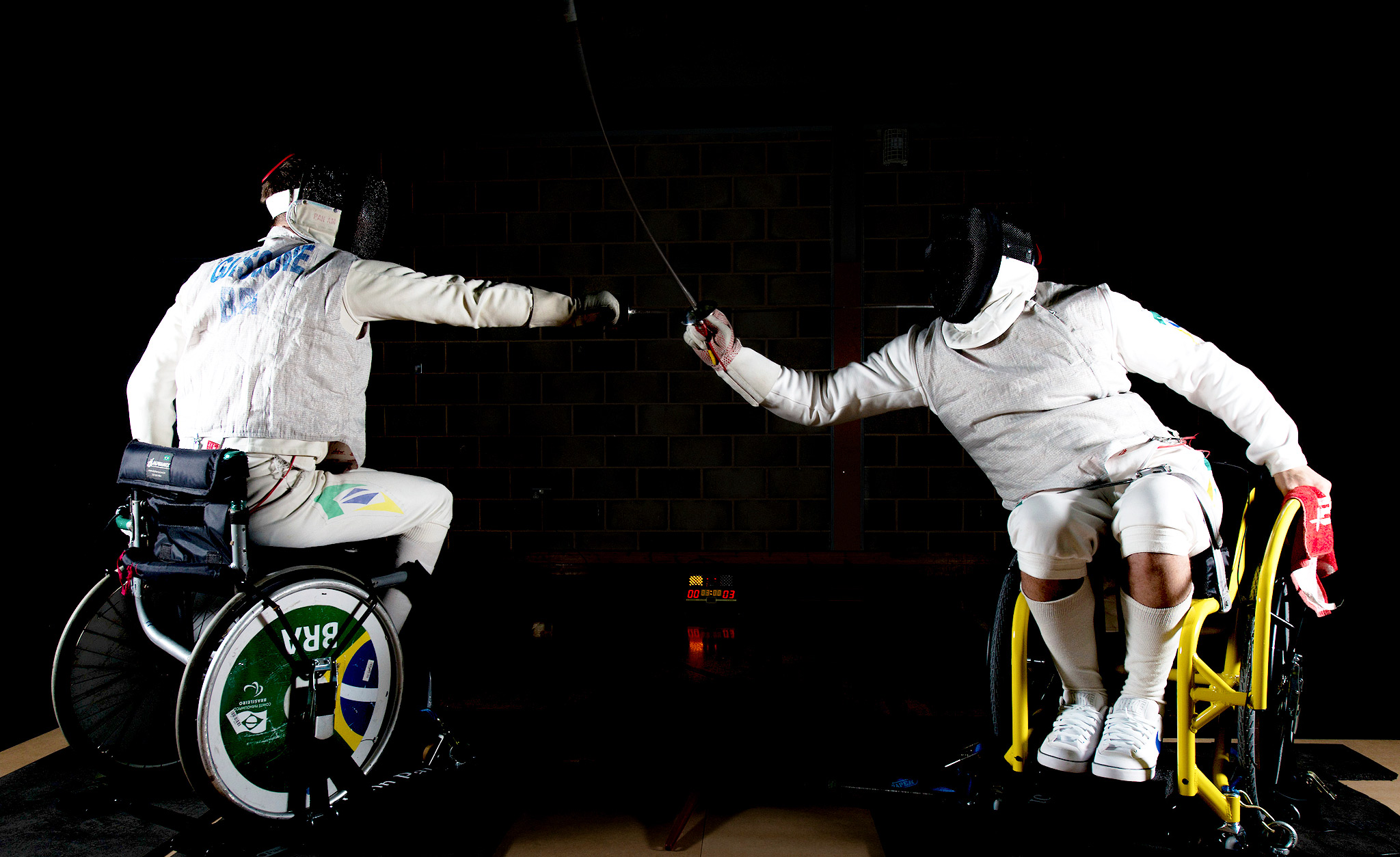 Paralympic fencing
