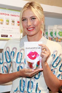 Maria Sharapova's latest off-court venture? A candy line called Sugarpova.
