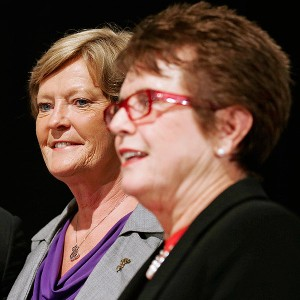 Pat Summitt, Billie Jean King