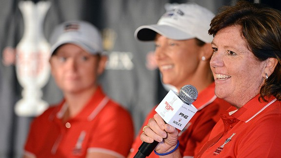 Meg Mallon, making a recent appearance at the Colorado Golf Club, knows all about the Solheim Cup: She played in it eight times.