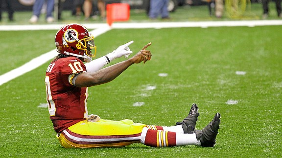 Sorry, RG3, but we have to do better than Griffining.