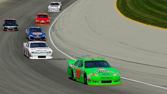 Danica Patrick's previous best Sprint Cup results were 29th-place finishes at Bristol and Atlanta.