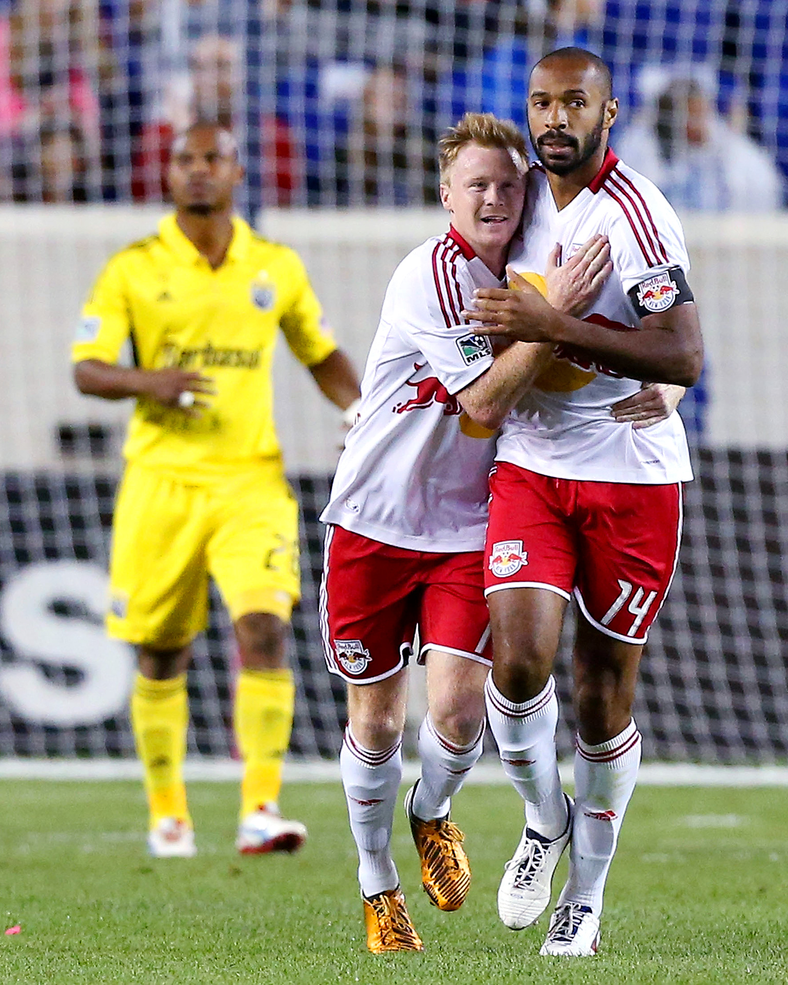 Thierry Henry and Dax McCarty
