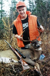 The chase for his first deer is still fresh in Matthew Mulligan's mind.