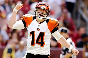 Andy Dalton and the Bengals are seeking their third consecutive playoff berth.