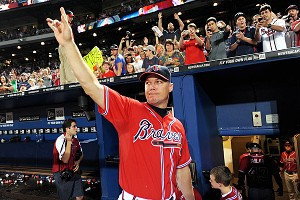 Chipper Jones' swan song has been spectacular. In his final season, the future Hall of Famer put up numbers rivaled only by Ted Williams' last season.