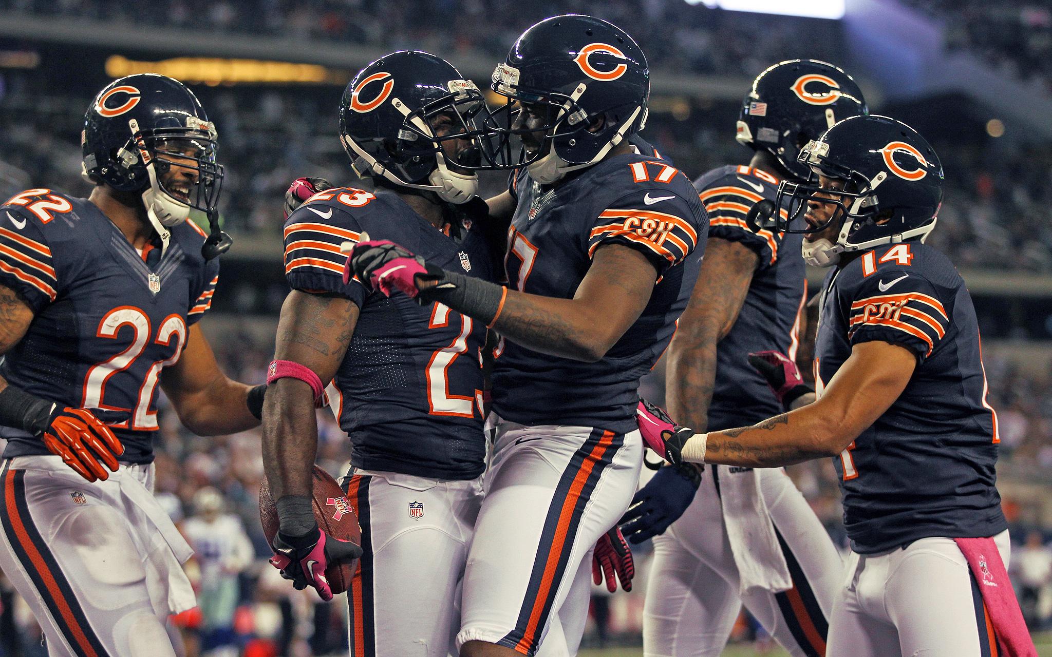 Bears Celebrate