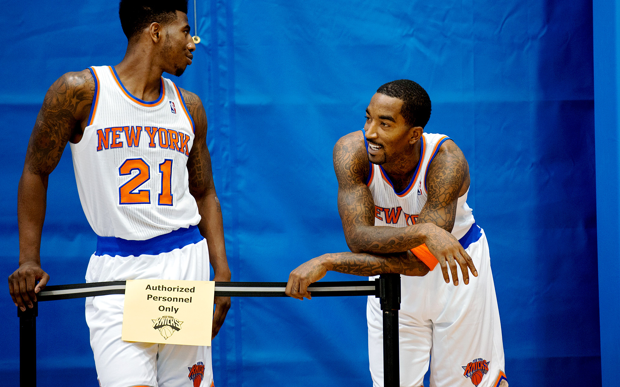 Iman Shumpert, J.R. Smith