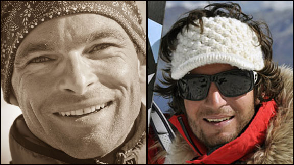 Rmy Lcluse, left, and Greg Costa were among those killed in the Sept. 23 avalanche.