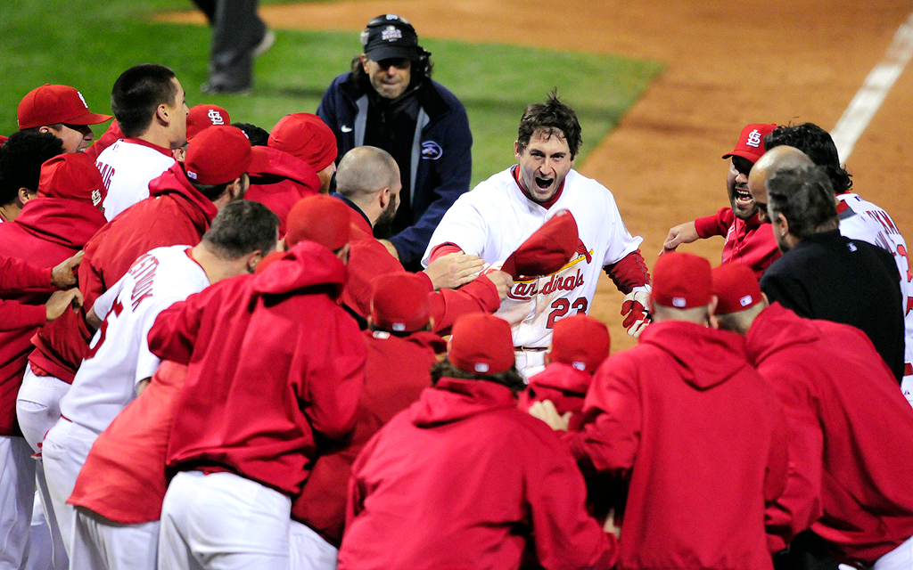 2011 WS: Cardinals over Rangers