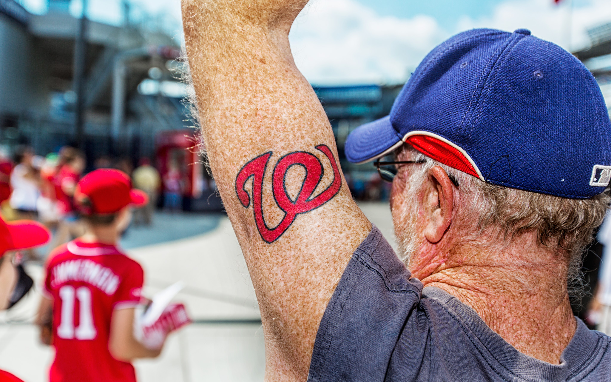 Washington Nationals fans