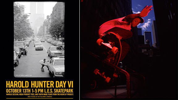 Harold Hunter Day, October13th.