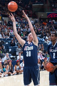 Breanna Stewart, the nation's No. 1 recruit, scored more points in her first 10 games than any other player in UConn history.